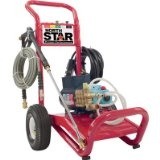 NorthStar Electric Cold Water Pressure Washer - 3000 PSI, 2.5 GPM, 230 Volt