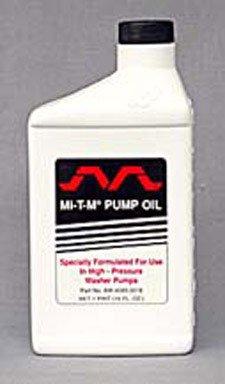 pressure washer pump oil