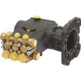 General Pump Triplex Pressure Washer Pump - 4.0 GPM, 4000 PSI, Gas Flange, Direct Drive, Model# EP1313G8