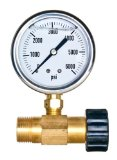New Brass Adaptor and Pressure Gauge Kit for Pressure Washers