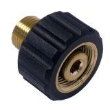 LASCO 60-1025 Coupler for Pressure Washer, Male 22mm Coupler, 3/8-Inch Male Pipe Thread
