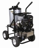 Simpson King Brute KB3028 2.8 GPM Briggs and Stratton Gas/Diesel Powered Hot Water Heavy Duty Pressure Washer